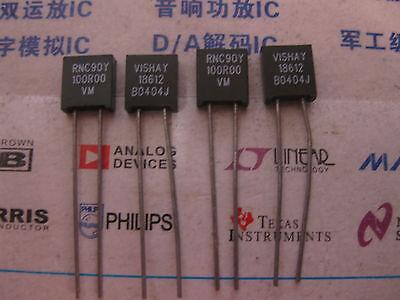 1x Rnc90y 100r00 Vm Vishay Rnc90 Series Metal Foil Resistors Y0089100r000vm0l