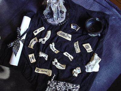 Schamanisches Hexen Knochenorakel ( echte Knochen ! ) + esoterische Beigaben