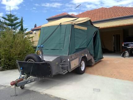 Off Road Hard Floor Camper Trailer Red Cliffs Mildura City Preview