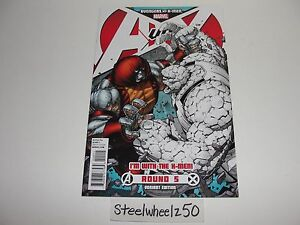 Avengers-Vs-X-Men-5-Dale-Keown-Team-Variant-Marvel-Comics-2012-Colossus-Thing
