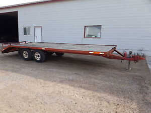 20 foot 9 tonne deckover trailer