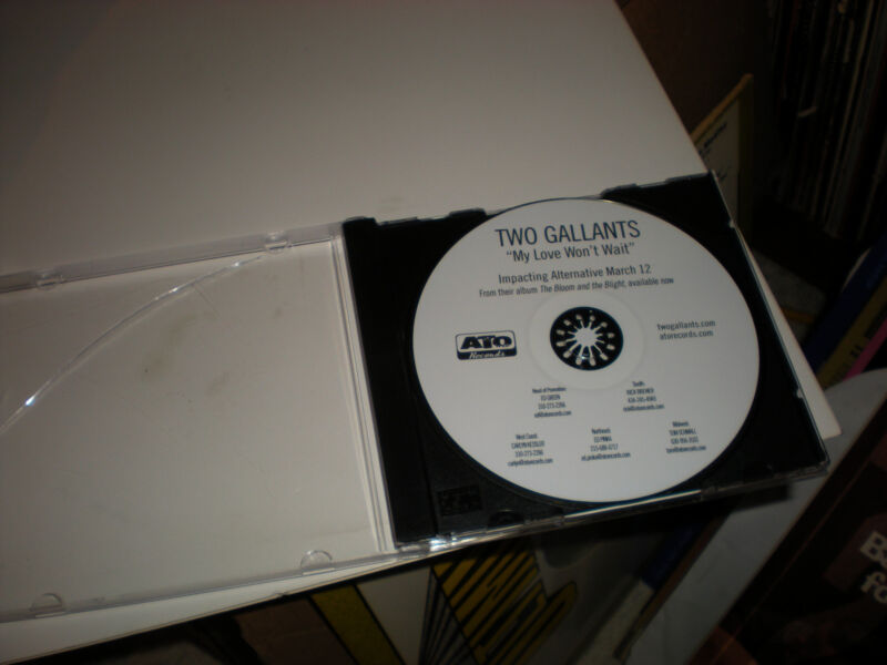 Two Gallants My Love Won't Wait CD SINGLE one track