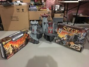 castle, catapults, siege machine and more