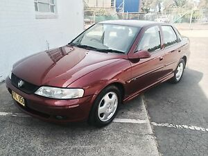 2001 Holden Vectra Sedan Strathfield South Strathfield Area Preview