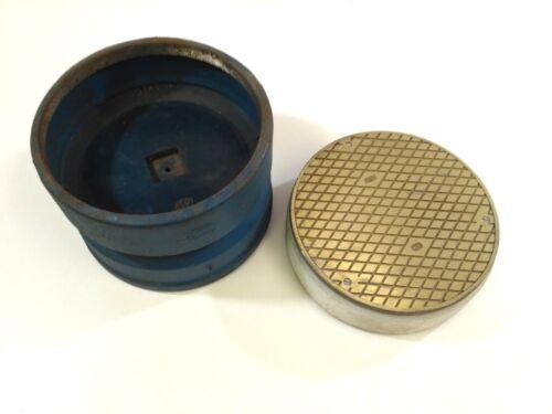 ZURN 55963-4   8in. Bronze  Adjustable Floor Cleanout