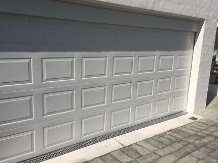 Single Garage With Roller Door Remote Light Building Materials