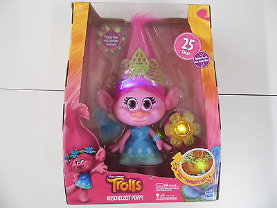 Hasbro  - Trolls Kuschelzeit Poppy Figur - mit Funktion
