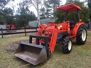 Daedong Kioti 50hp 4x4 bucket and forks 900 hrs Kangaroo Valley Shoalhaven Area Preview