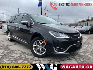 2017 Chrysler Pacifica Limited | NAV | LEATHER | PANO ROOF | CAM
