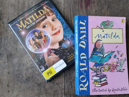 Roald Dahl's ' Matilda' DVD and book