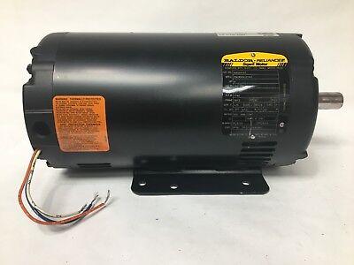 Baldor Reliance 103204-07 Super E Electric Motor 3hp 200-230v 1740 Rpm Fr 56yz