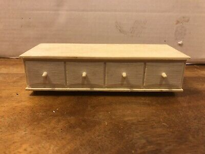 Vintage Barbie Susy Goose Doll Furniture Off White Short Dresser Dollhouse for sale  West Chester