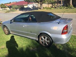 2001 Holden Astra Convertible Halls Head Mandurah Area Preview