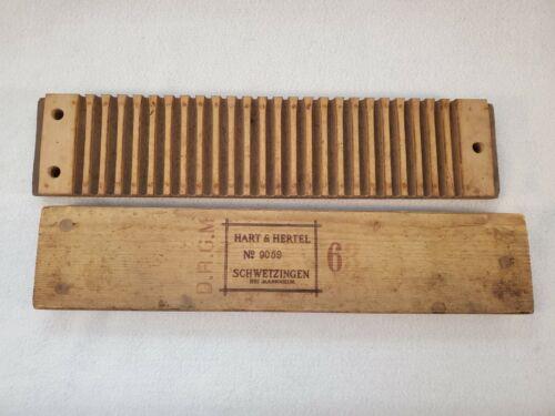 D.R.G.M. Hart & Hertel Schwetzingen Bei Mannheim Wood 20 Count Cigar Mold Press