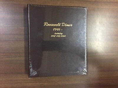 Dansco Coin Album # 8125 For Roosevelt Dimes from 1946-2023s Including Proofs
