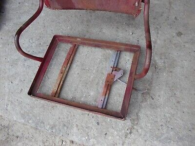 International 300 350 Utility Tractor Ihc Deluxe Seat Assembly Frame For Cushion