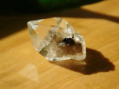 Natural Twin Herkimer Diamond Quartz Crystal, Authentic Herkimer Diamond Quartz