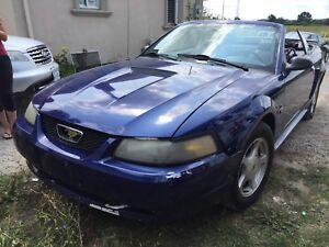 2001 Ford Mustang Convertible 3.8L