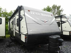 2019 Trail Runner by Heartland RV 30 USBH 4 BUNK 2 CHAMBRES LIQU