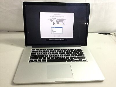 "Apple MacBook Pro RETINA 15.4"" ME294LL/A (Late 2013) 2.3GHz i7 16GB  256GB"