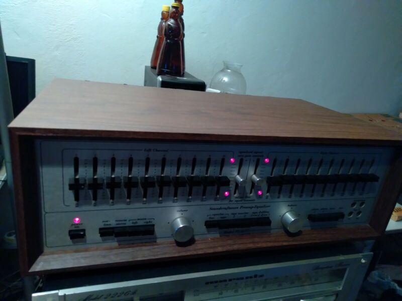 Soundcraftsmen PE2217 Vintage Preamp-Equalizer pro serviced