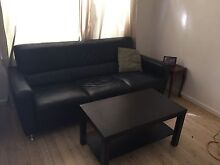 Lounges freedom as new leather 3 seater & 2 seater Umina Beach Gosford Area Preview