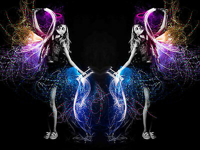Buy Fiber Optic Whip Rave illuminated glowing spectrum trippy luminescence Glow