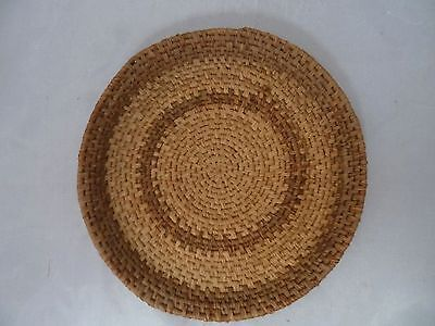 Native American Weave Small Basket Dish Tray. Nice Design. Approx 7