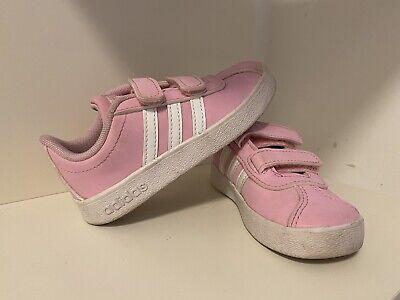 Adidas Mädchen Turnschuhe Sneakers Rosa/weiß Gr 25, Wie NEU online kaufen