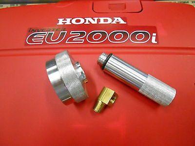 Honda Eu2000i Generator Extended Run Gas Capoil Fill Drain Tube Kit 14 Elbow