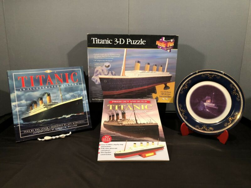 Titanic Items Lot Of 4