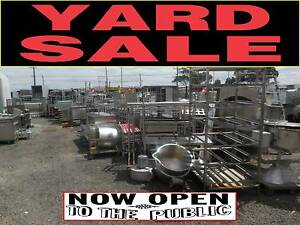 YARD CLEARANCE - SPARE PARTS ETC - CATERING EQUIPMENT Campbellfield Hume Area Preview