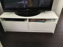 2x White entertainment unit $40each or 2 for $70! ONO Roseville Ku-ring-gai Area Preview