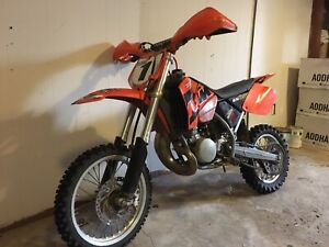 Ktm 2 stoke with ownership