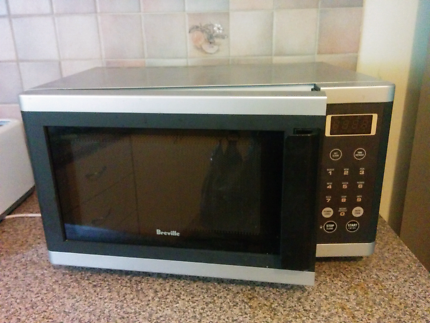 Breville Medium Size Stainless Steel Microwave