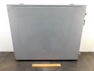 Hoffman Electrical Enclosure N631743 30x24x8 Box Control Type 1213