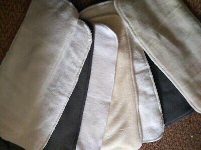 Bundle EX DISPLAY, hemp, Charcoal bamboo, microfiber,  bamboo & Organic wipes
