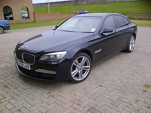 BMW 740D M SPORT AUTO BLACK 59 PLATE MINT INSIDE AND OUT