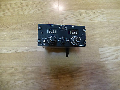 Aircraft VHF COM NAV Frequency Selector