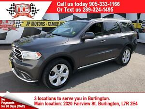 2014 Dodge Durango SXT, Automatic, 3rd Row Seating, Sunroof, AWD