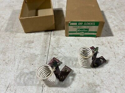 Lot Of Two Monitor Products Size 10 Heater Elements Magnetic 160-31-3.5a Nos