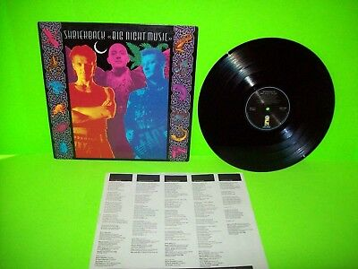 Shriekback ‎– Big Night Music Vinyl LP Record Album Electronic Synth-Pop NM 1986