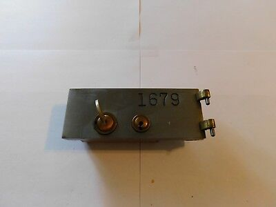 "SAFE DEPOSIT BOX DOOR LOCK! SAFETY BANK VINTAGE ONE KEY. - 5 1/4"" X 2""  - #1679"