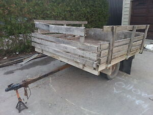Cargo Trailer with Ownership, Plates and Lights