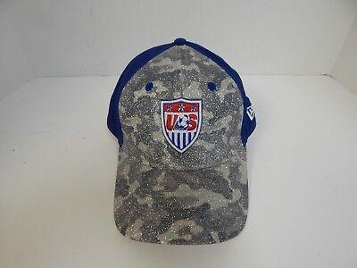 New Era 9Fifty WOMEN US Glitter Camo/ w US Soccer Logo Adjustable Strapback Cap