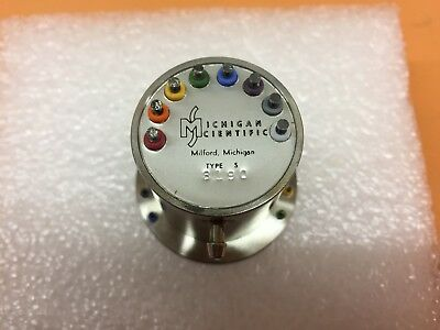 New Michigan Scientific S8 8 Slip Ring Okuma Motor Encoder