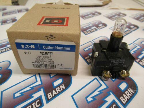 Cutler Hammer 10250T67, Series A2, Light Module, 480 Volt- NEW-B