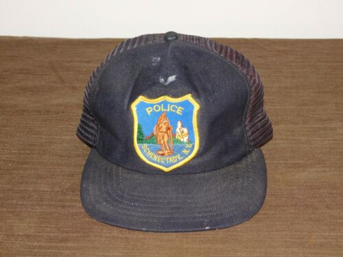 POLICE  DEPARTMENT BASEBALL CAP HAT SCHENECTADY NY