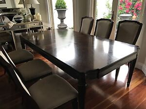 elegant Dining table with 6 chairs Coburg Moreland Area Preview