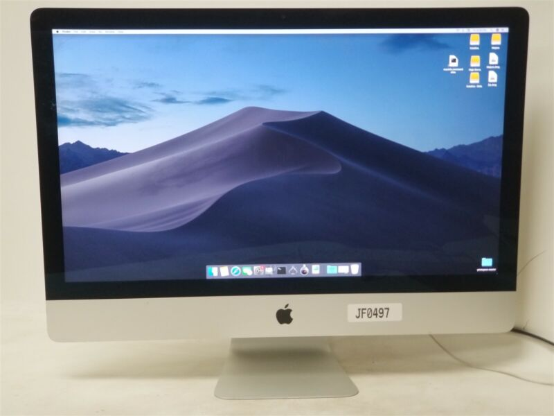 "Apple iMac MK462LL/A Core i5 3.2 27"" 8GB 1TB Retina 5k BEAST!"